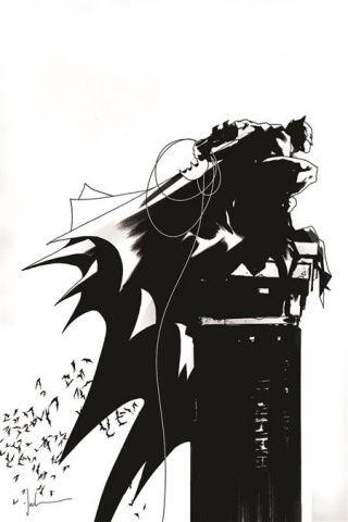 Batman: Black & White #2 (Jock Cover)