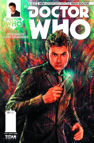 Doctor Who: New Adventures with the Tenth Doctor #1 (2nd Printing)