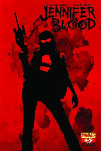 Garth Ennis' Jennifer Blood #5