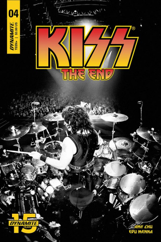 KISS: The End #4 (Photo Cover)
