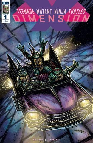 Teenage Mutant Ninja Turtles: Dimension X #1 (20 Copy Cover)