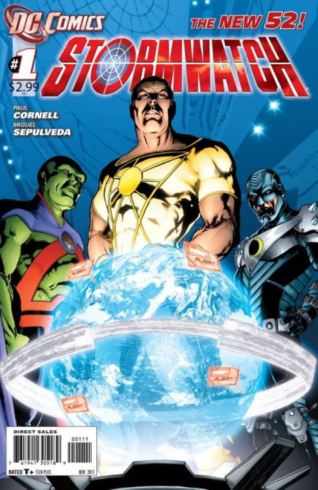 Stormwatch #1 (2nd Printing)