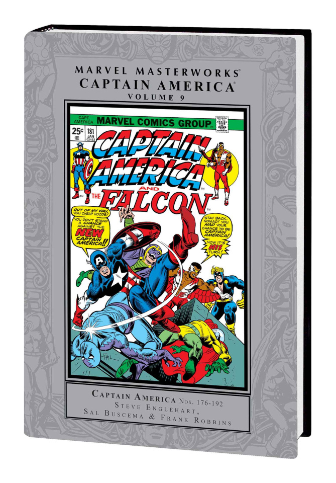 Captain America Vol. 9 (Marvel Masterworks)