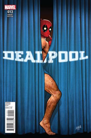 Deadpool #13 (Rebirth Cover)