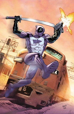 Quicksilver: No Surrender #1 (Land Deadpool Cover)