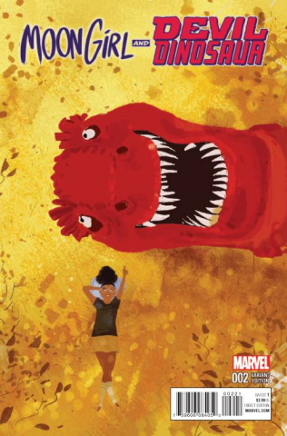 Moon Girl and Devil Dinosaur #2 (Campion Cover)