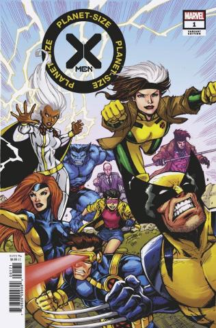 Planet-Sized X-Men #1 (Lim X-Men '90s Cover)