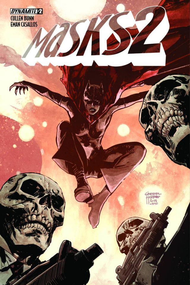 Masks 2 #2 (Subscription Cover)