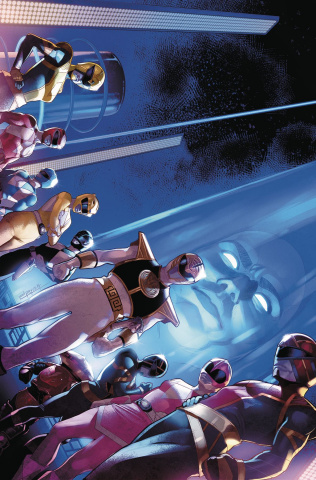 Mighty Morphin' Power Rangers #47 (Campbell Cover)