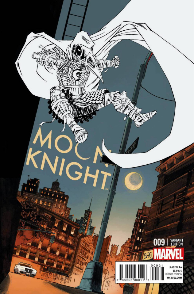 Moon Knight #9 (Shalvey Cover)