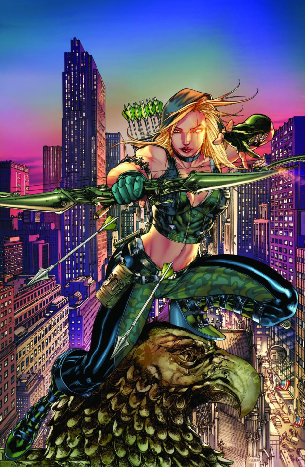 Grimm Fairy Tales: Robyn Hood - Wanted #1 (Taliboa Cover)