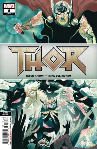 Thor #8 (Del Mundo 2nd Printing)