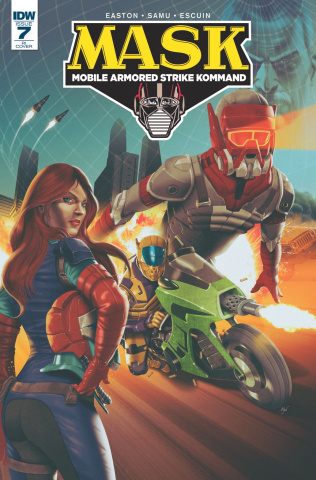 M.A.S.K.: Mobile Armored Strike Kommand #7 (10 Copy Cover)