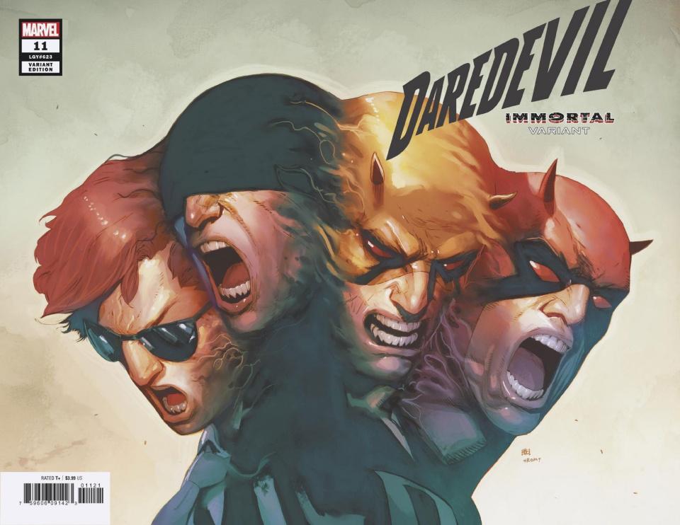 Daredevil #11 (Pham Immortal Cover)