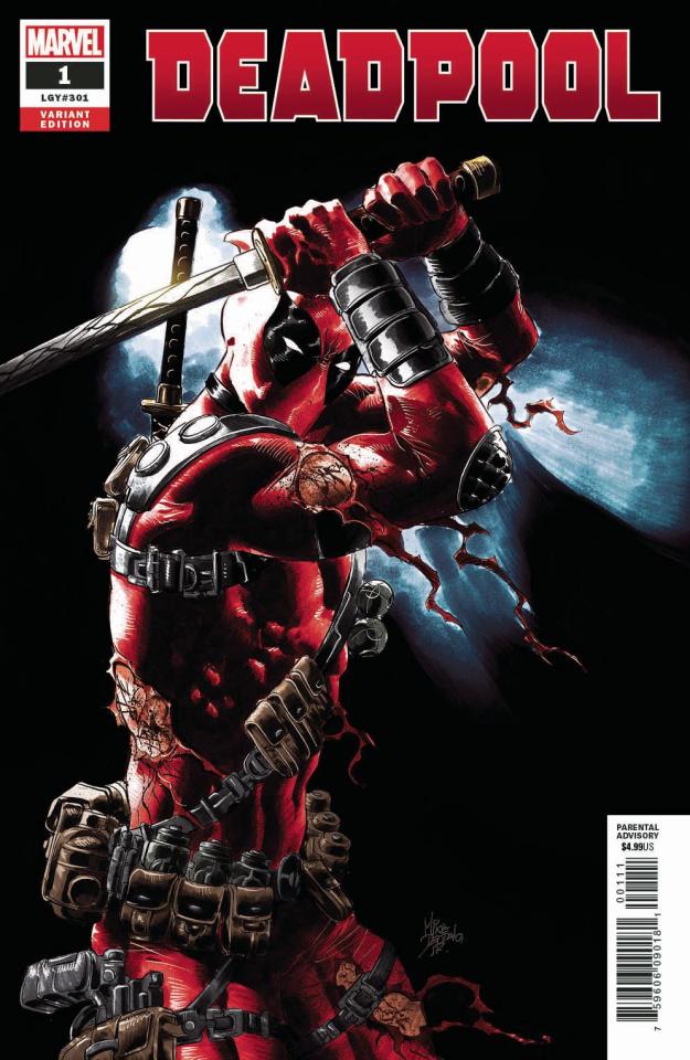 Deadpool #1 (Deodato Cover)
