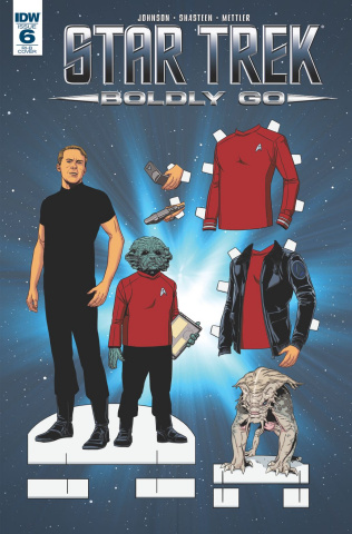 Star Trek: Boldly Go #6 (25 Copy Cover)