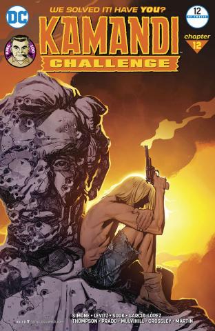 The Kamandi Challenge #12 (Variant Cover)