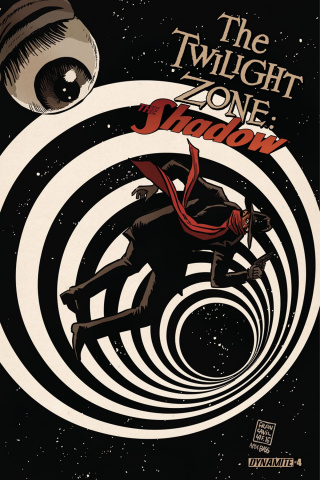 The Twilight Zone: The Shadow #4 (Francavilla Cover)