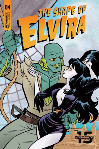 The Shape of Elvira #4 (J Bone Cover)