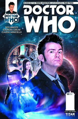 Doctor Who: New Adventures with the Tenth Doctor, Year Two #3 (Subscription Photo Cover)