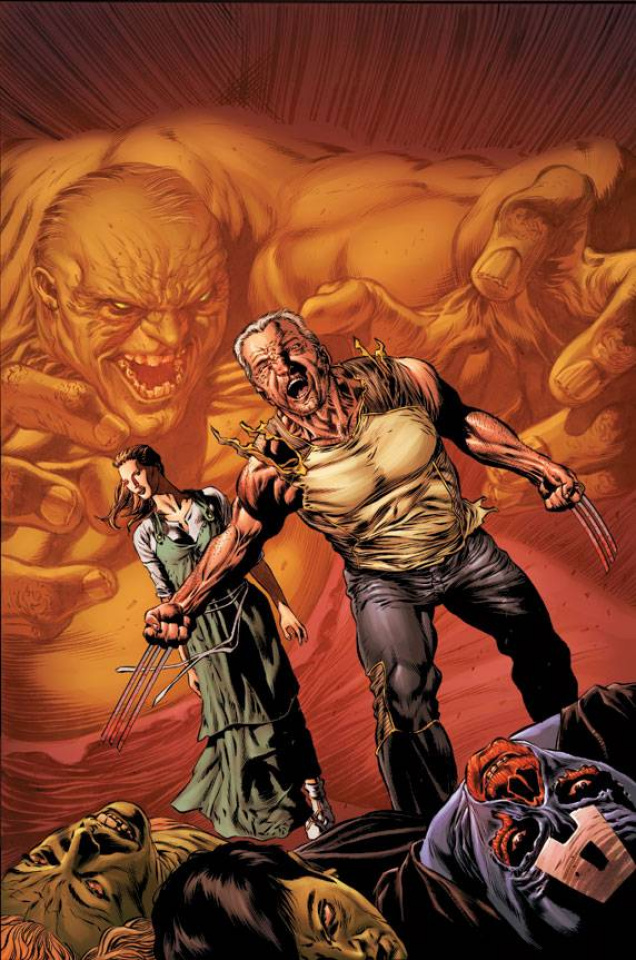 Savage Wolverine #6 (Perkins Wolverine Cover)