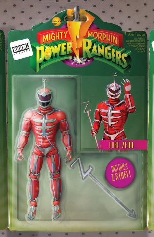 Mighty Morphin' Power Rangers #13 (Unlock Action Figure Cover)