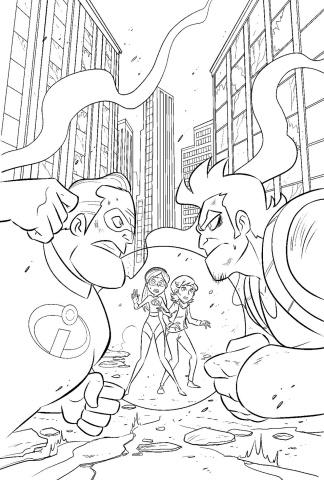 Incredibles 2: Secret Identities #2 (Claudio-Vinci Cover)