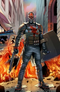 Death Force #1 (Rosete Cover)