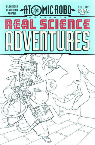 Atomic Robo: Real Science Adventures #11