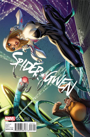 Spider-Gwen #7 (Campbell Connecting B Cover)