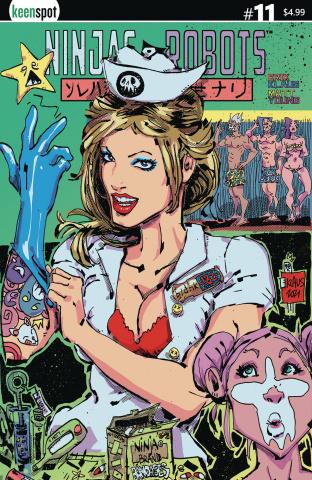 Ninjas & Robots #11 (Klaus Cover)