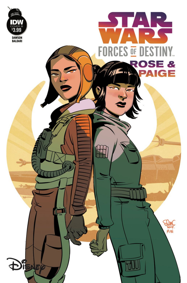 Star Wars Adventures: Forces Of Destiny - Rose & Paige (Cover B)