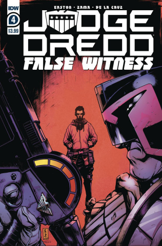 Judge Dredd: False Witness #4 (Zama Cover)