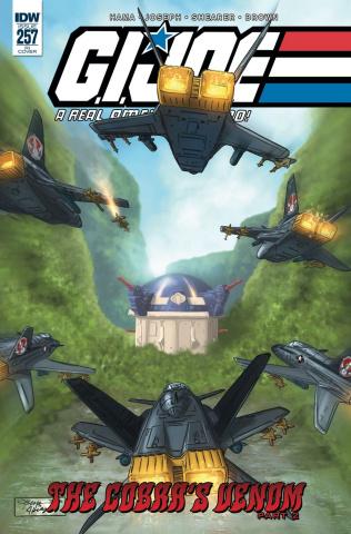 G.I. Joe: A Real American Hero #257 (10 Copy Sullivan Cover)