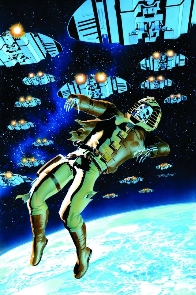 Battlestar Galactica: Death of Apollo #1 (Rare Mayhew Virgin Cover)