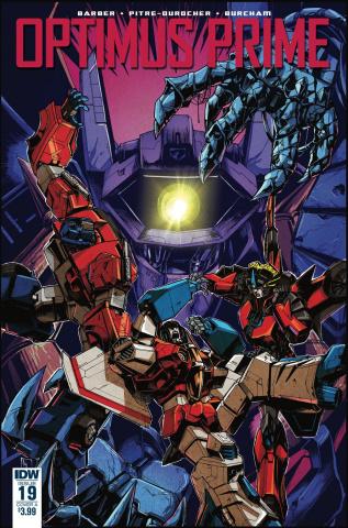Optimus Prime #19 (Zama Cover)