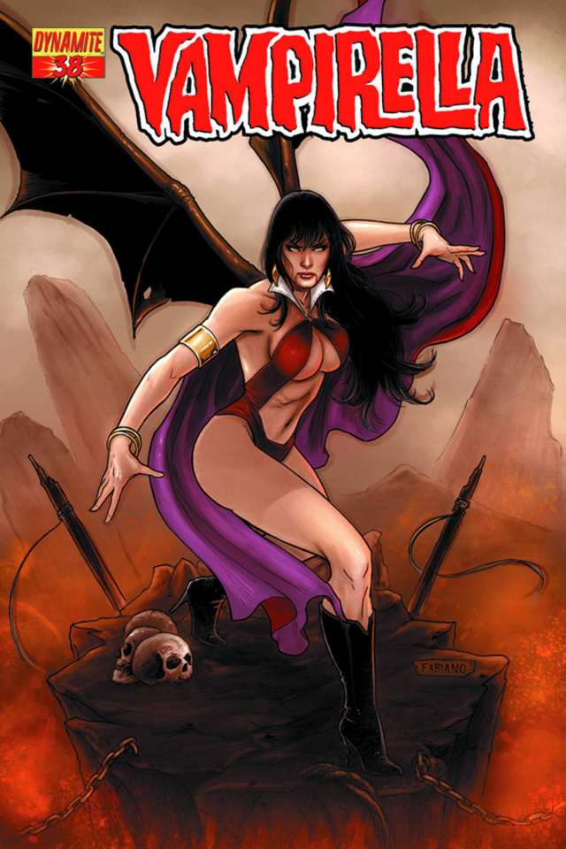 Vampirella #38 (Neves Cover)