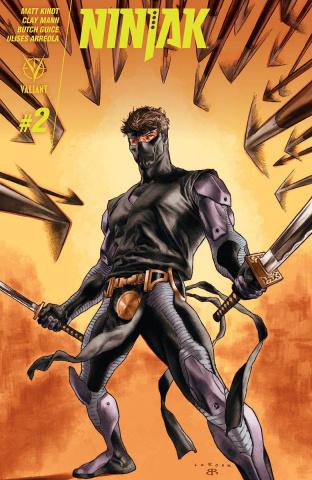 Ninjak #2 (2nd Printing)
