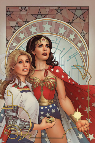Wonder Woman '77 Meets The Bionic Woman #6 (25 Copy Cover)