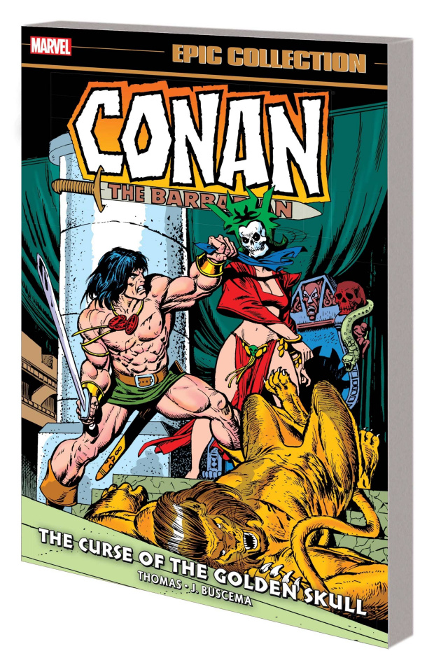 Conan: The Original Marvel Years - The Curse of the Golden Skull (Epic Collection)