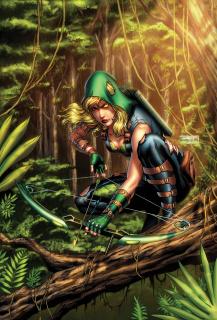 Robyn Hood: The Hunt #4 (Vitorino Cover)