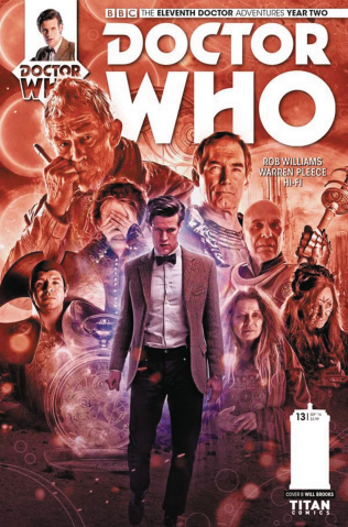 Doctor Who: New Adventures with the Eleventh Doctor, Year Two #13 (Photo Cover)