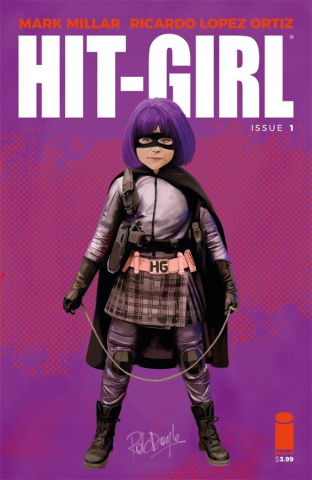 Hit-Girl #1 (Doyle Cover)