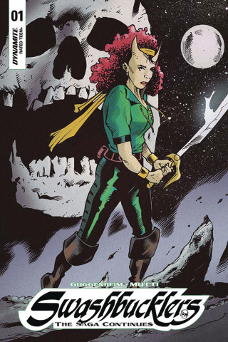 Swashbucklers: The Saga Continues #1 (10 Copy Mutti Cover)