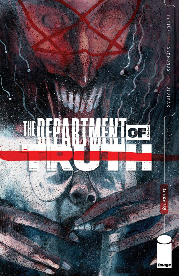 The Department of Truth #8 (Simmonds Cover)