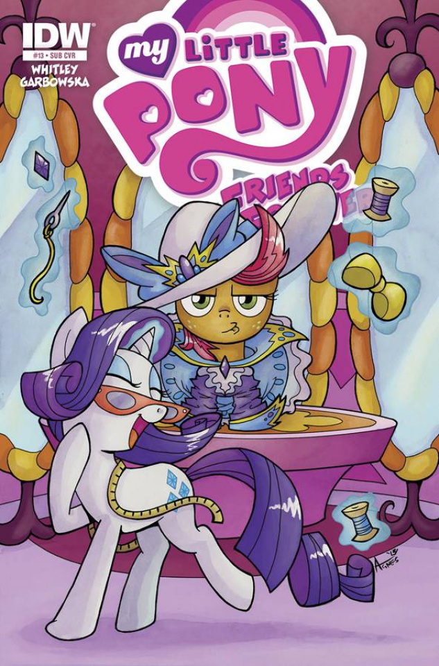 My Little Pony: Friends Forever #13 (Subscription Cover)