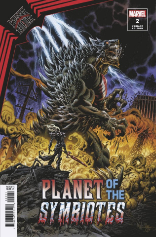 King in Black: Planet of the Symbiotes #2 (Hotz Cover)