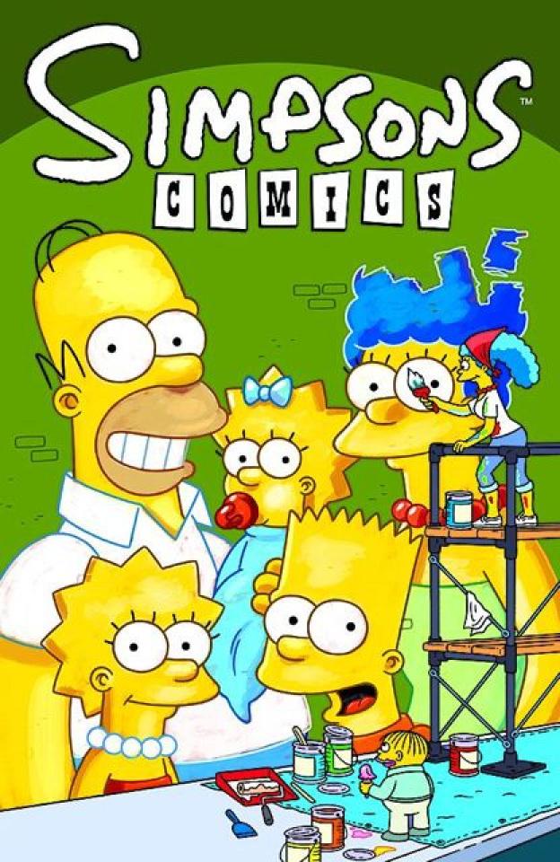 Simpsons Comics #182