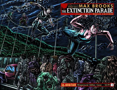 The Extinction Parade #5 (Wrap Cover)