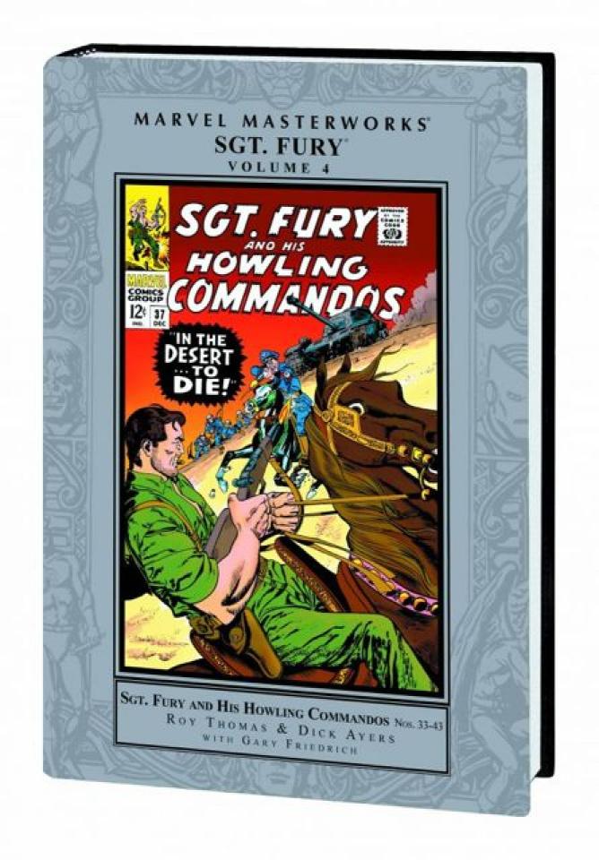 Sgt. Fury Vol. 4 (Marvel Masterworks)